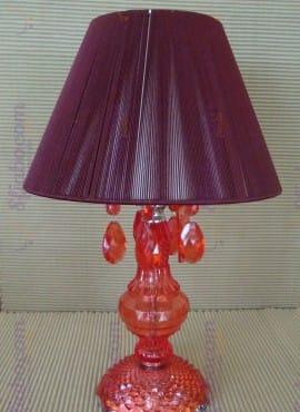 Lampada Maiuguali Rossa O Bianca