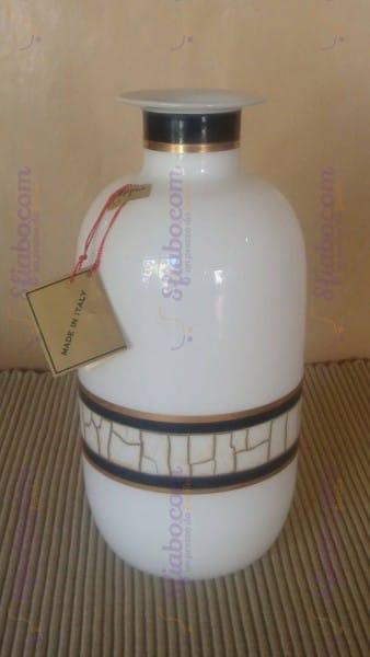 Vaso In Vetro Bianco Gipar