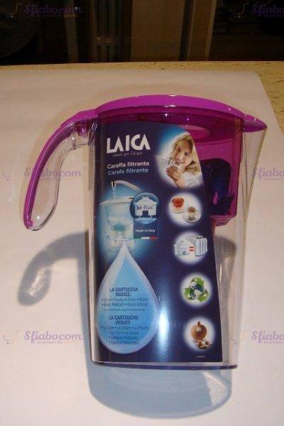 Caraffa filtrante Fucsia Laica