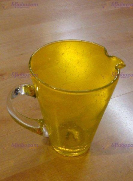 caraffa vetrp gialla icm
