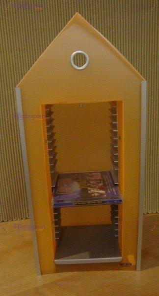 porta cd arancio emporium