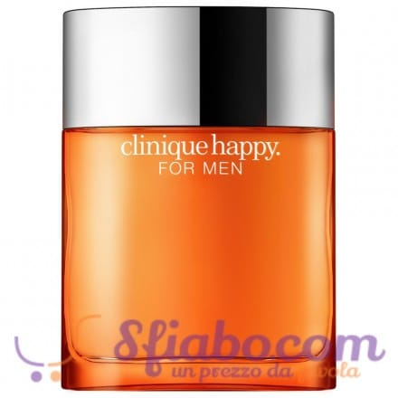 Tester Profumo Uomo Clinique Happy 100ml