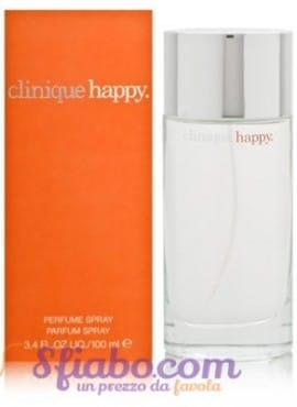 Tester Profumo Donna Clinique Happy 100ml