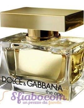Tester Profumo Donna Dolce & Gabbana The One 75ml EDP