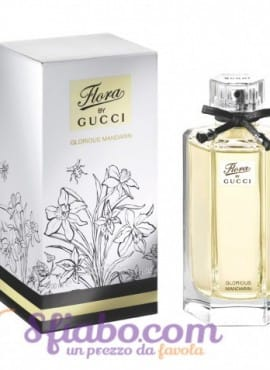 Tester Profumo Donna Gucci Flora By Gucci Glorious Mandarin 100ml