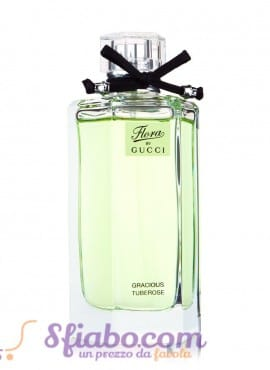 Tester Profumo Donna Gucci Flora By Gucci Gracious tuberose 100ml
