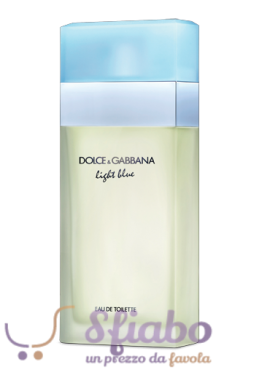 Tester Profumo Donna Dolce & Gabbana Light Blue 100ml