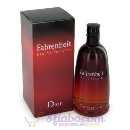 Profumo Fahrenheit Dior Eau De Toilette Uomo 100ml
