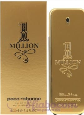 Profumo Paco Rabanne One Million 100ml EDT Uomo