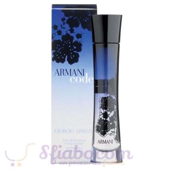Armani Code donna edp 75ml