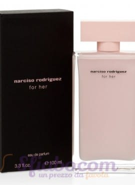 Profumo Narciso Rodriguez Bottiglia Rosa Donna 100ml Eau De Parfum