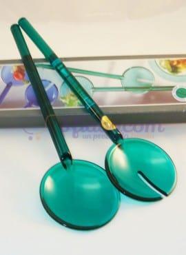 Posate Per Insalata Guzzini Color Verde