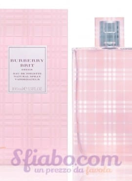 Tester Profumo Buberry Brit Sheer EDT 100ml Donna