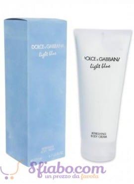 Crema Corpo Idratante Profumata Light Blue Dolce & Gabbana 200ml
