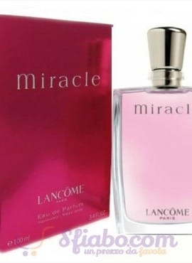 Profumo Donna Miracle Lancome EDP 100ml