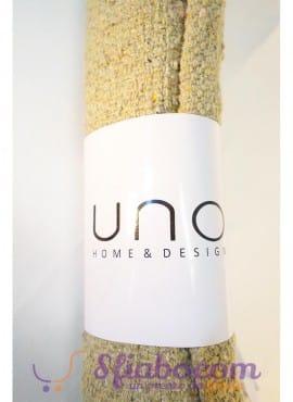 Tappeto in cotone beige UNO Home Design