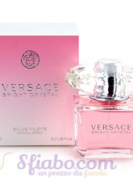 Profumo Donna Bright  Crystal Versace EDT 90 ml