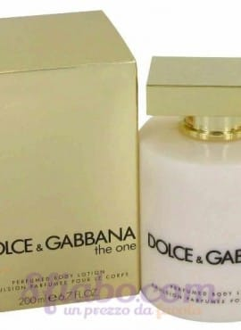 Crema Corpo Dolce & Gabbana The One 200ml Donna