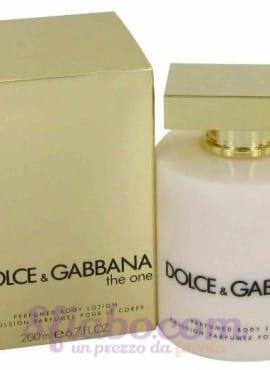 Crema Corpo Dolce & Gabbana The One 200ml Donna