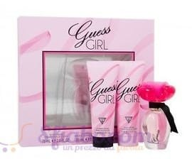 Profumo Guess Girl Confezione Regalo EDT 30ml Con Body Cream 75ml e Shower Cream 75ml Donna