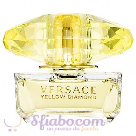 Tester Profumo Versace Yellow Diamond Donna EDT 90ml