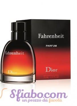 Profumo Christian Dior Fahrenheit Parfum 75ml Uomo
