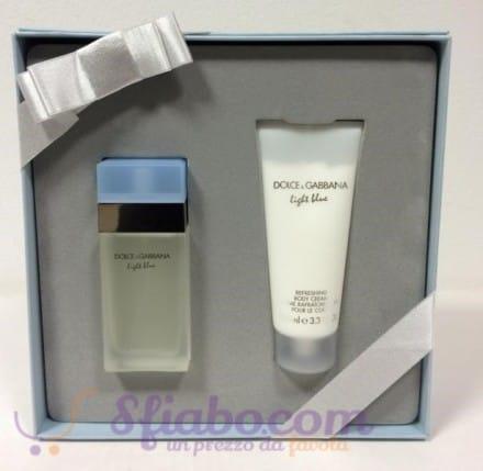 Confezione Regalo Dolce & Gabbana Light Blue Donna Profumo EDT 25ml + Crema Corpo 50ml
