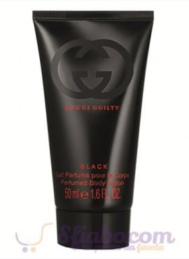Crema Corpo Gucci Guilty Black 50ml Donna