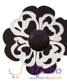 Ganci Appendi Abiti Ferro Nero e Bianco Primavera Arti e Mestieri