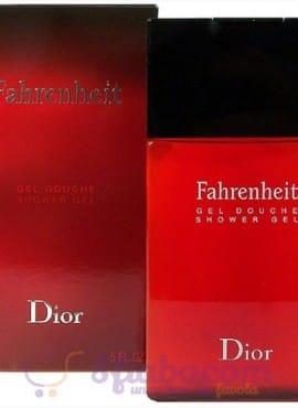 Gel Doccia Fahrenheit Christian Dior 150ml Uomo