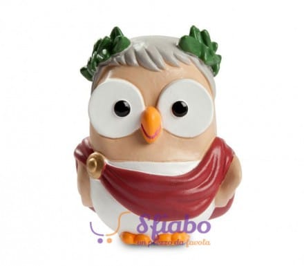 Gufo in Ceramica Egan Cesare Goofi Egan