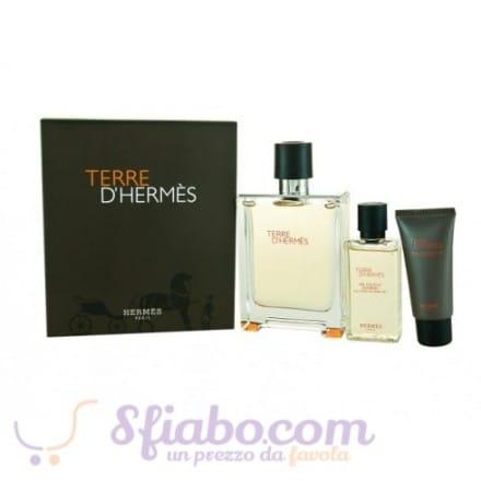 Cofanetto Regalo Terre d'Hermès Parfum Gift Set Uomo