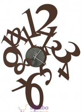 Orologio da Parete Arti e Mestieri Astrid in Ferro