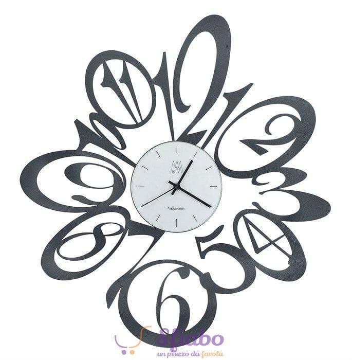 Offerta orologio da parete blus arti e mestieri in ferro nero for Arti e mestieri orologio da parete prezzi