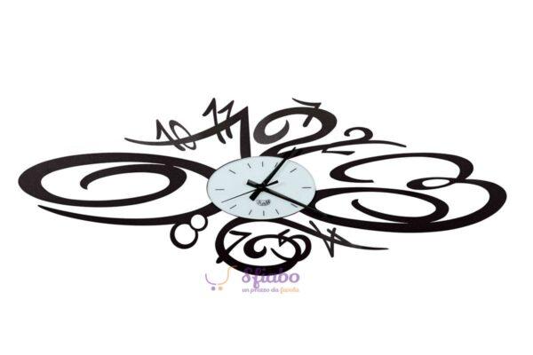 orologio da parete burlesque arti e mestieri nero 2509