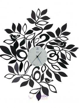 Orologio da Parete Arti e Mestieri Natura in Ferro