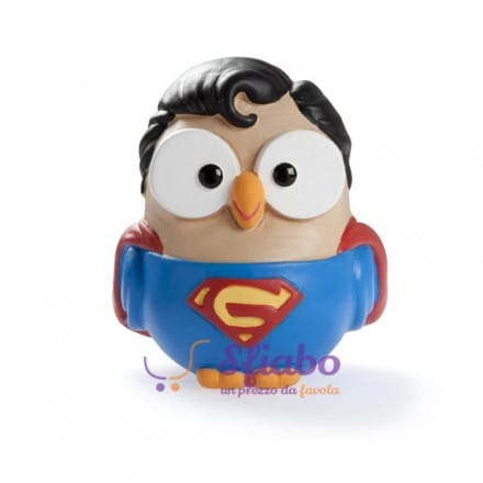 Gufo in Ceramica Superman Supergoof di Goofi Egan