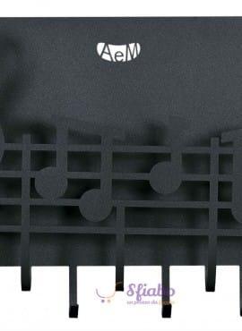 Appendichiavi e Portaposta Note Musicali Arti e Mestieri