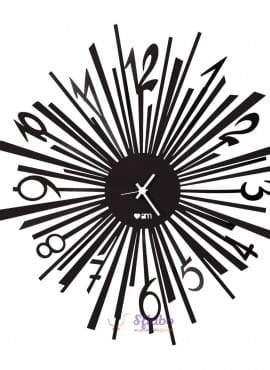 Orologio Love Exploit Arti e Mestieri in Ferro