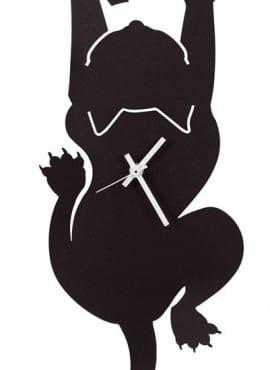 Orologio Gatto Appeso Arti e Mestieri in Ferro