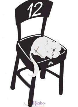 Orologio Romeo Ronf Arti e Mestieri Gatto sulla Sedia
