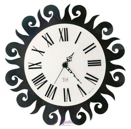 Offerta orologio sole arti e mestieri in ferro nero for Orologio arti e mestieri amazon