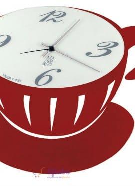 Orologio a forma di tazza Arti e Mestieri Pausa Parete