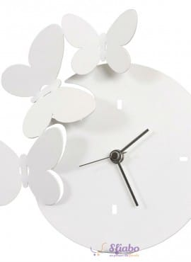 Orologio da Tavolo Farfalle Arti e Mestieri