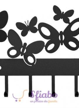 Appendichiavi Farfalle Arti e Mestieri Butterfly in Ferro
