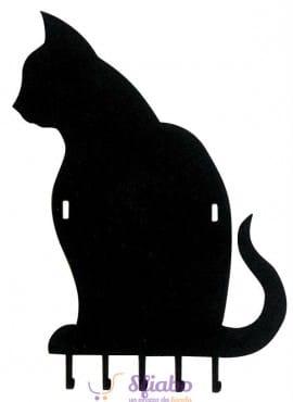 Appendichiavi Gatto Arti e Mestieri in Ferro