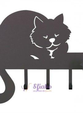 Appendichiavi Romeo Arti e Mestieri a forma di gatto
