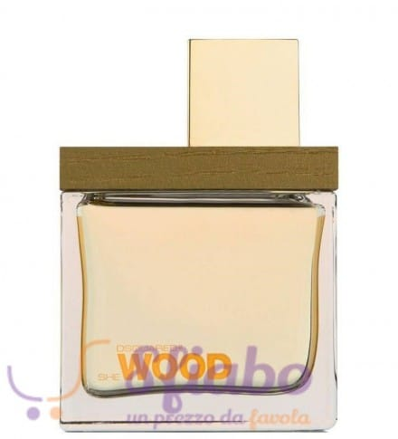 Tester Dsquared Golden Light Wood Dsquared EDP 100ml Donna