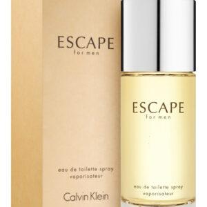 Profumo Inscatolato Uomo Calvin Klein Escape Eau de Toilette 100ml