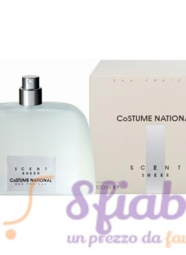 Profumo Costume National Scent Sheer Eau Fraiche 100ml Donna